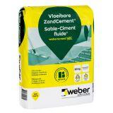 vloeibare zandcement weberscreed VZC