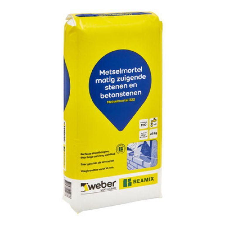 Weber Beamix Metselmortel 322