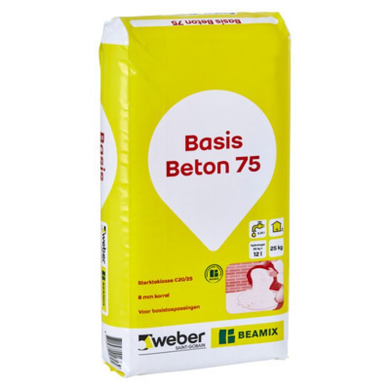 weber Beamix basis beton 75
