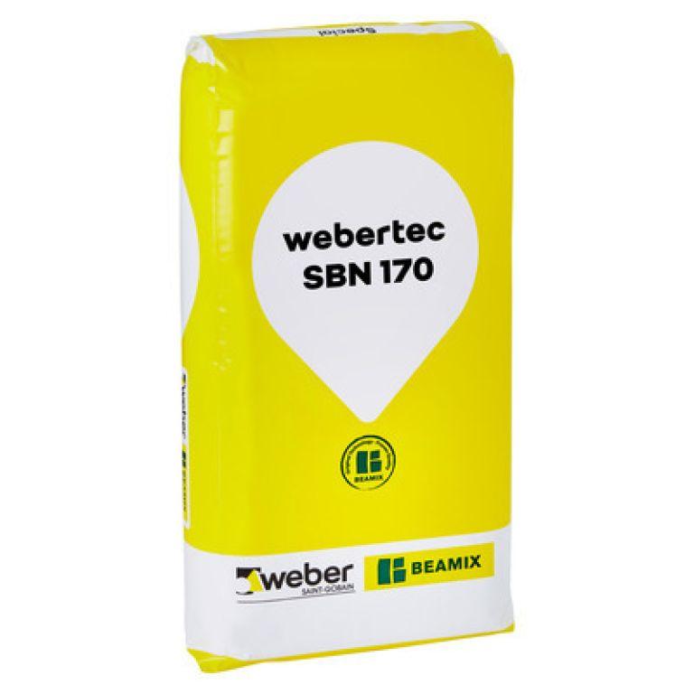 weber Beamix webertec sbn 170