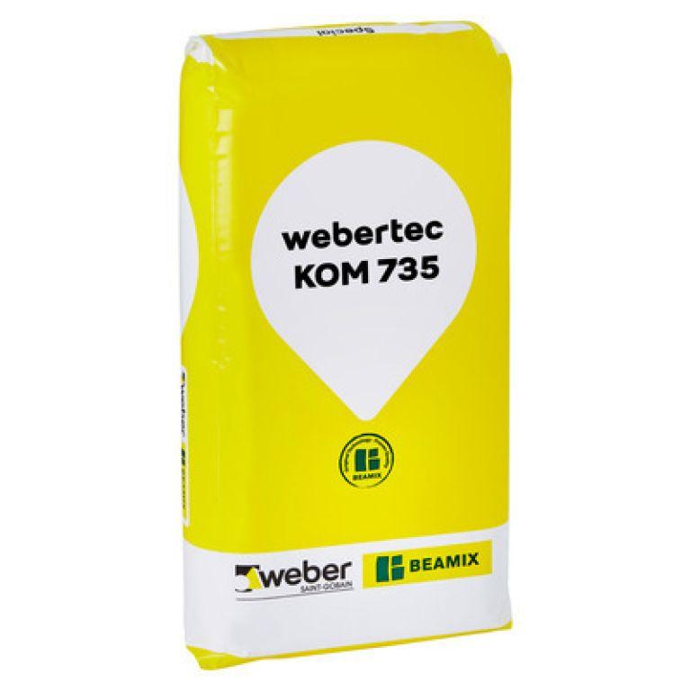 weber Beamix webertec kom 735