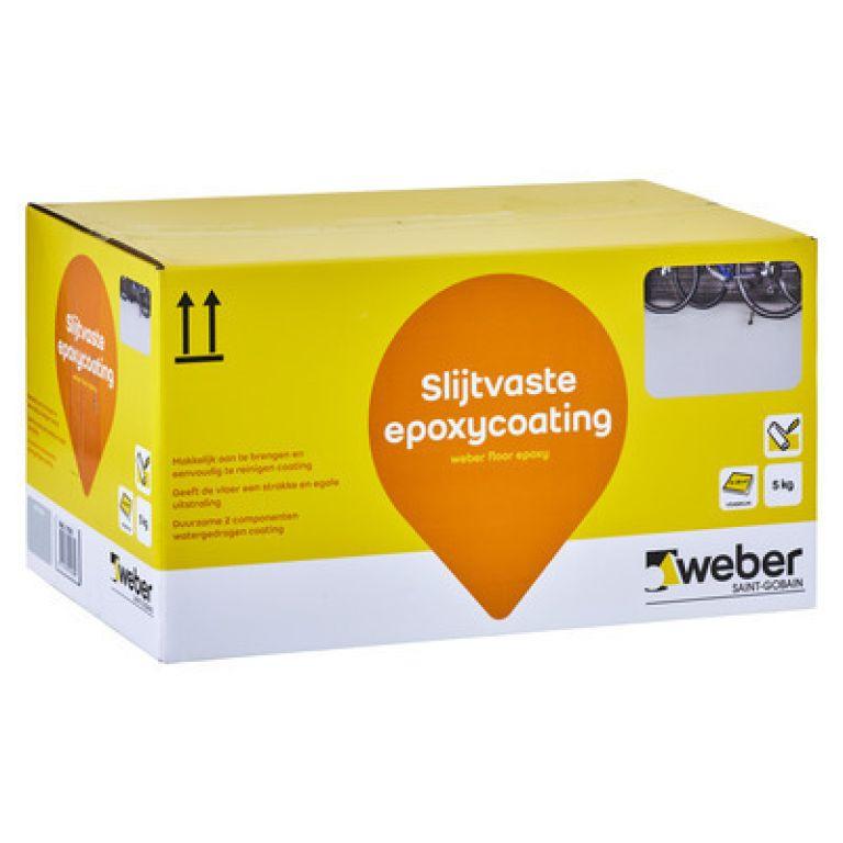 slijtvaste epoxycoating weber floor epoxy