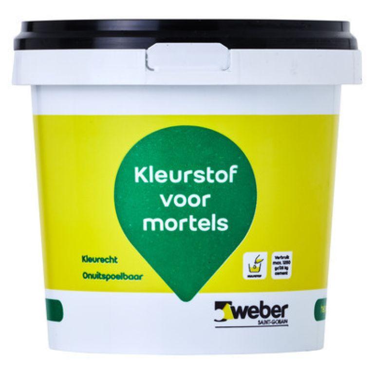 weber kleurstof voor mortels 1 kg